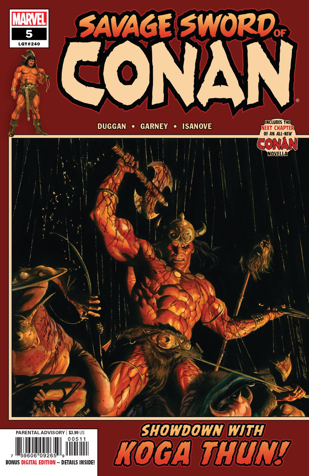 SAVAGE SWORD OF CONAN #5