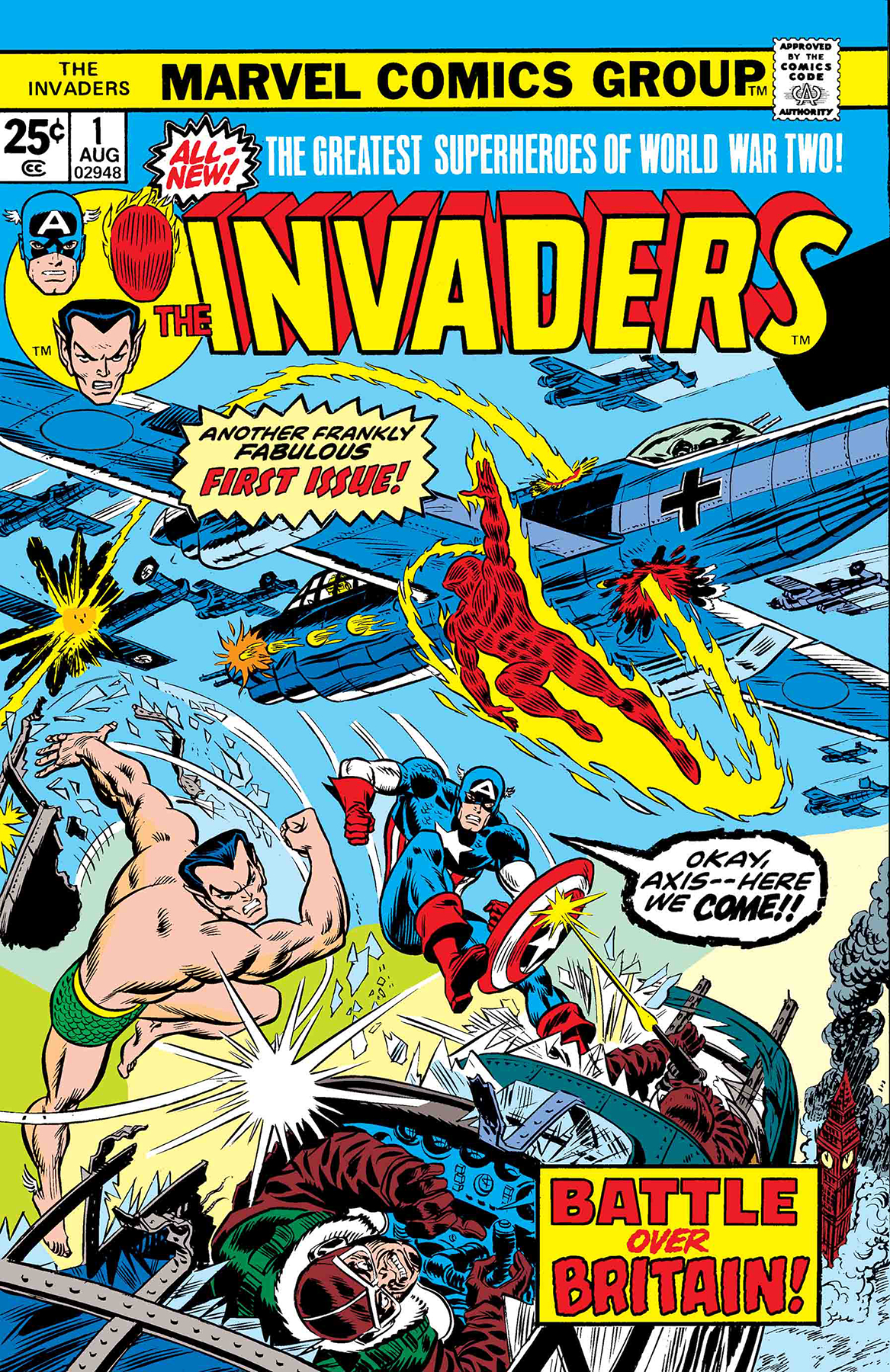 TRUE BELIEVERS INVADERS #1