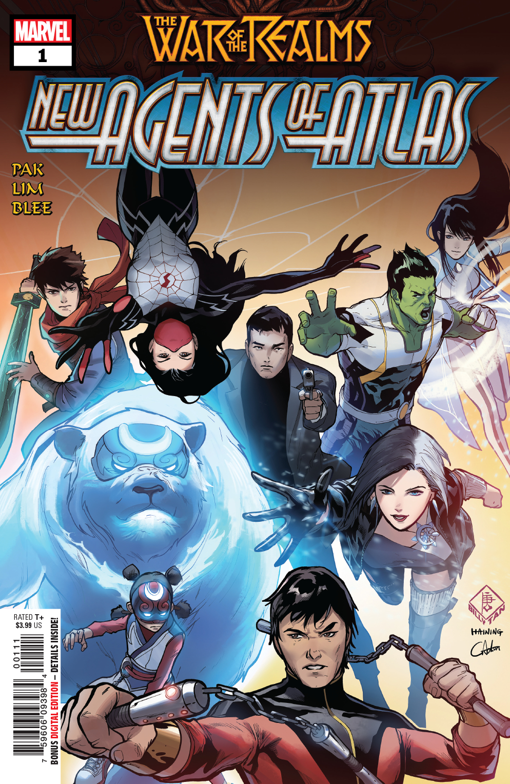 WAR OF REALMS NEW AGENTS OF ATLAS #1 (OF 4) WR