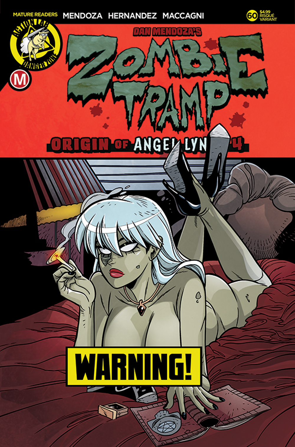ZOMBIE TRAMP ONGOING #60 CVR B MACCAGNI RISQUE (MR)