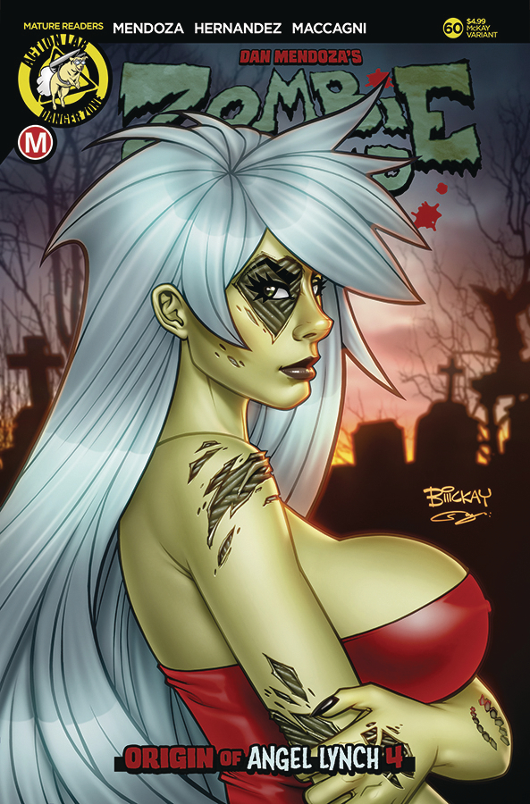 ZOMBIE TRAMP ONGOING #60 CVR C MCKAY VAR (MR)