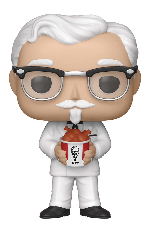 POP AD ICONS KFC COLONEL SANDERS VINYL FIGURE
