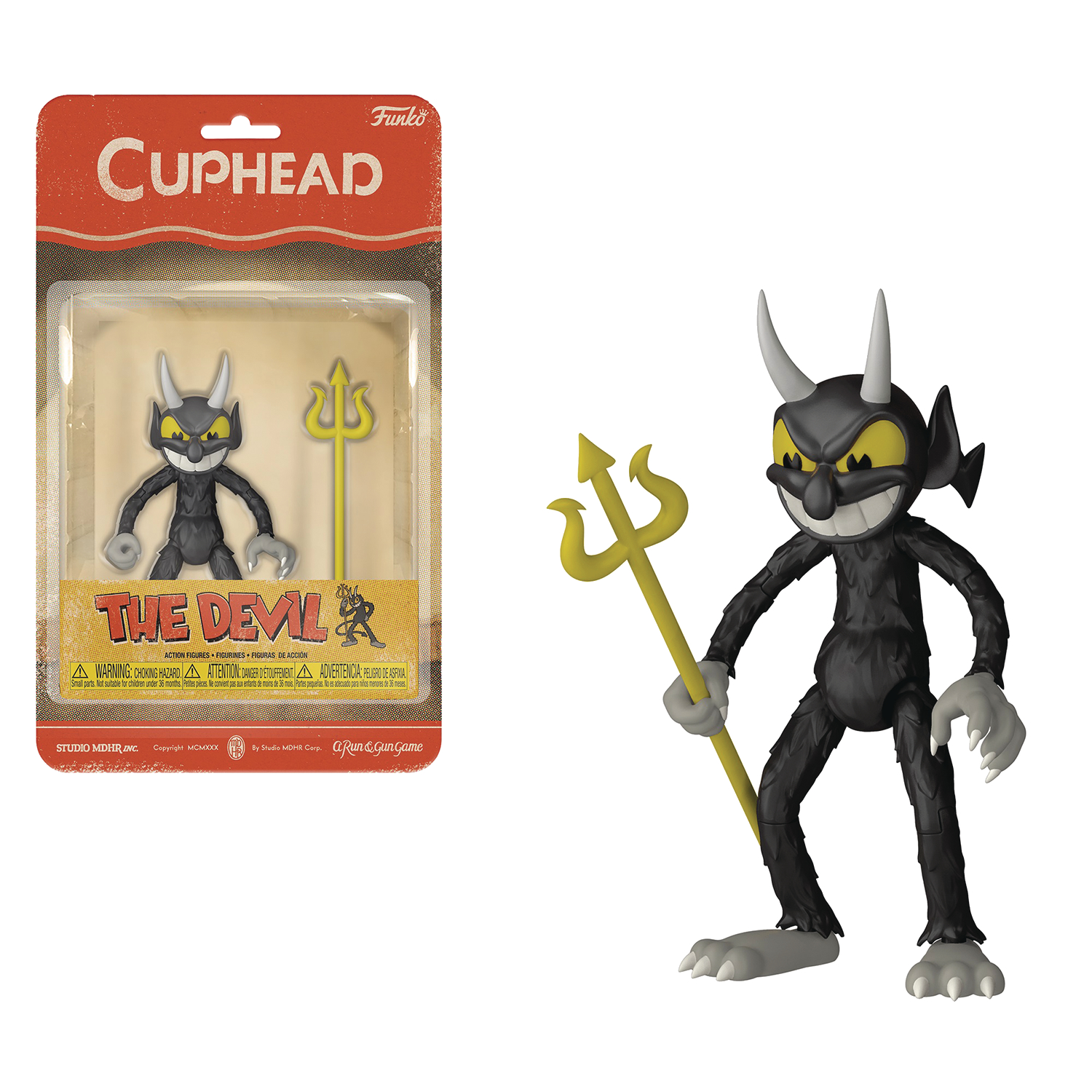 FUNKO CUPHEAD THE DEVIL AF