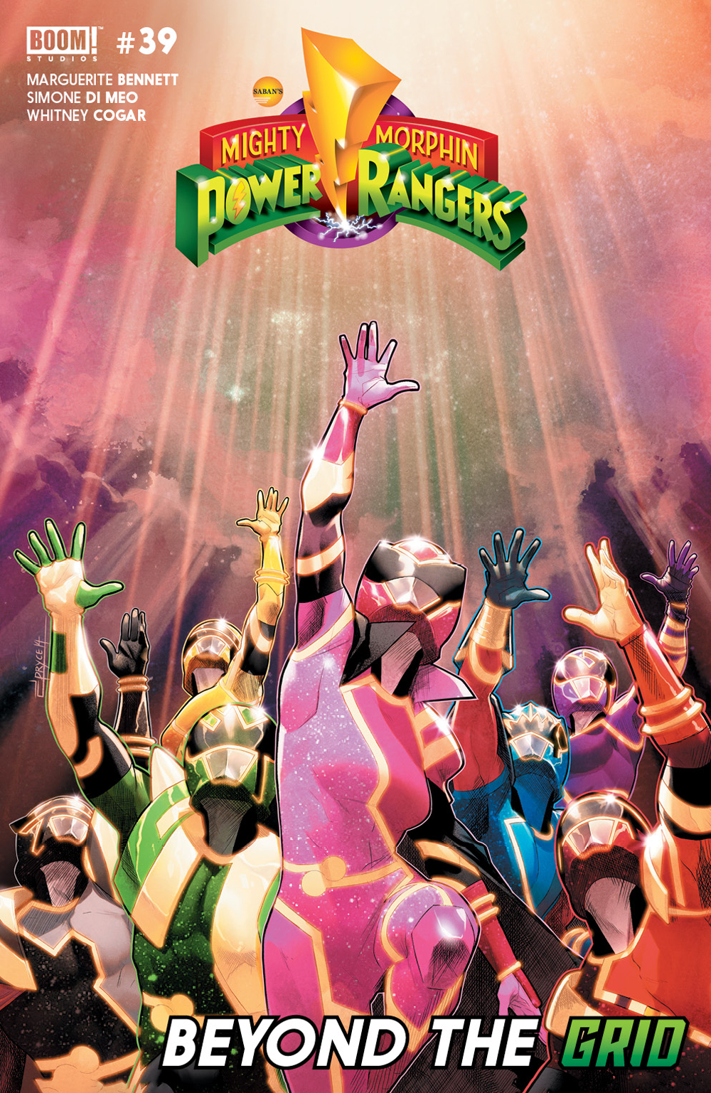 MIGHTY MORPHIN POWER RANGERS #39 MAIN