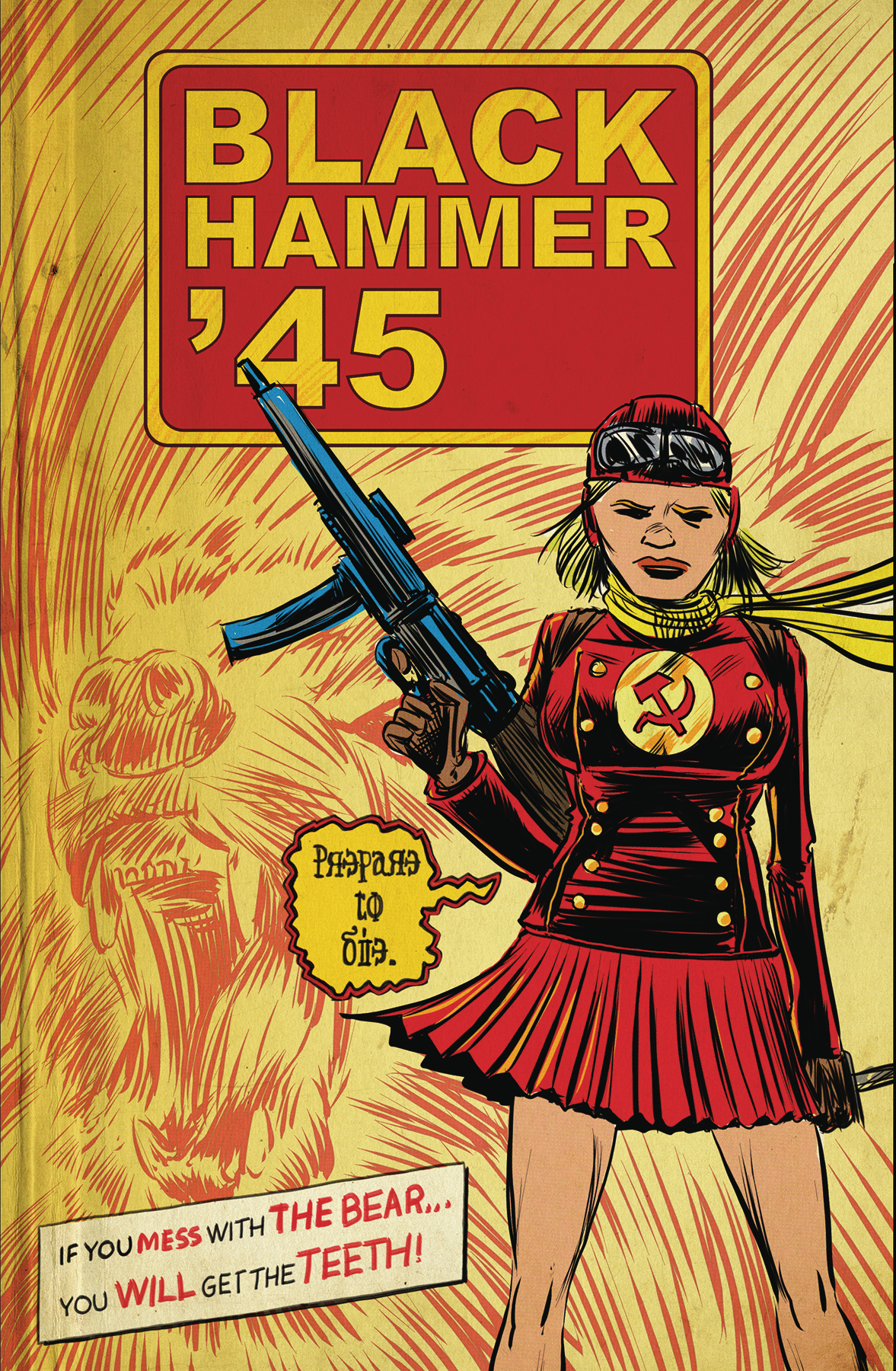 BLACK HAMMER 45 FROM WORLD OF BLACK HAMMER #3 CVR A KINDT
