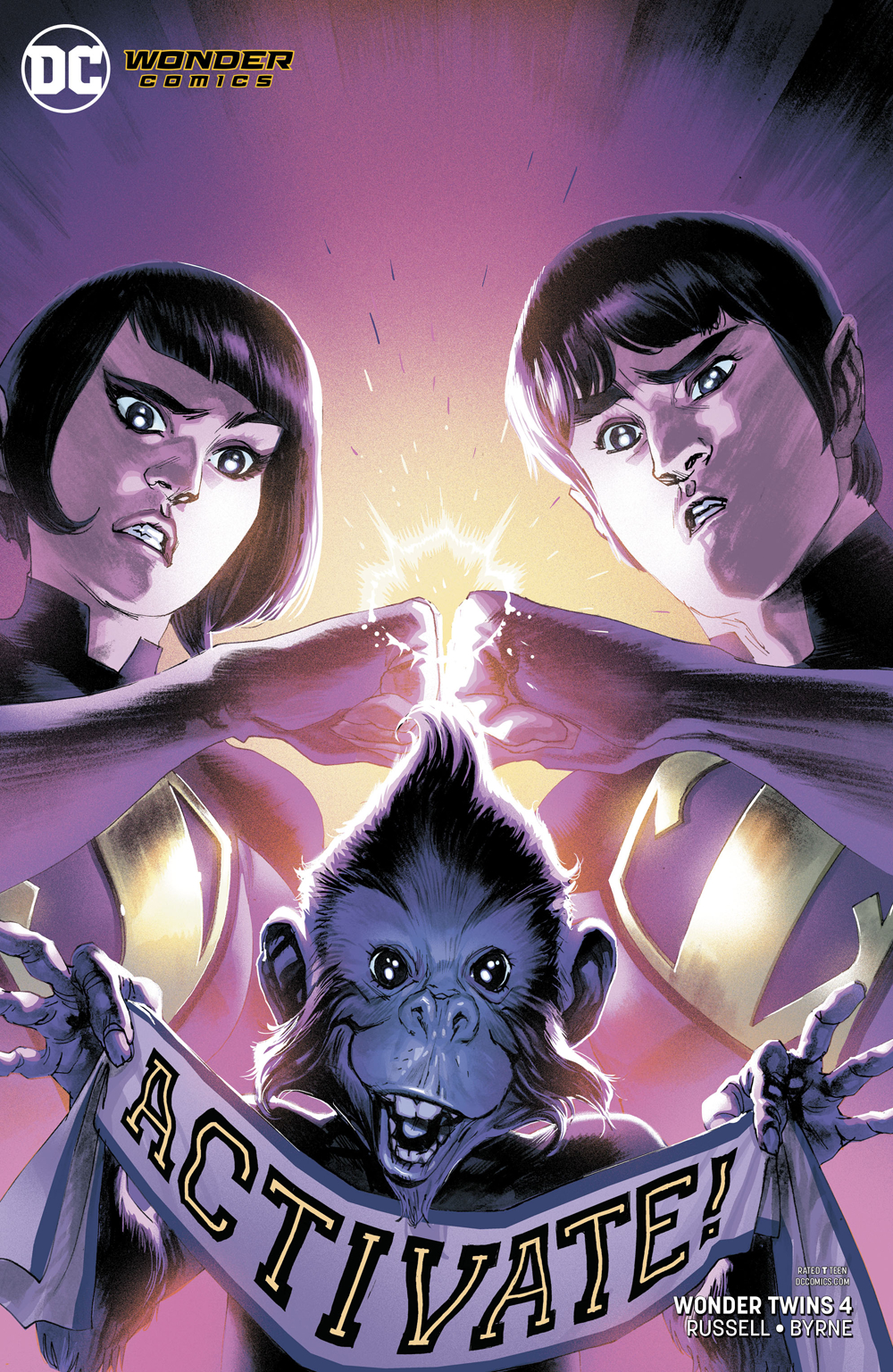 WONDER TWINS #4 (OF 6) VAR ED