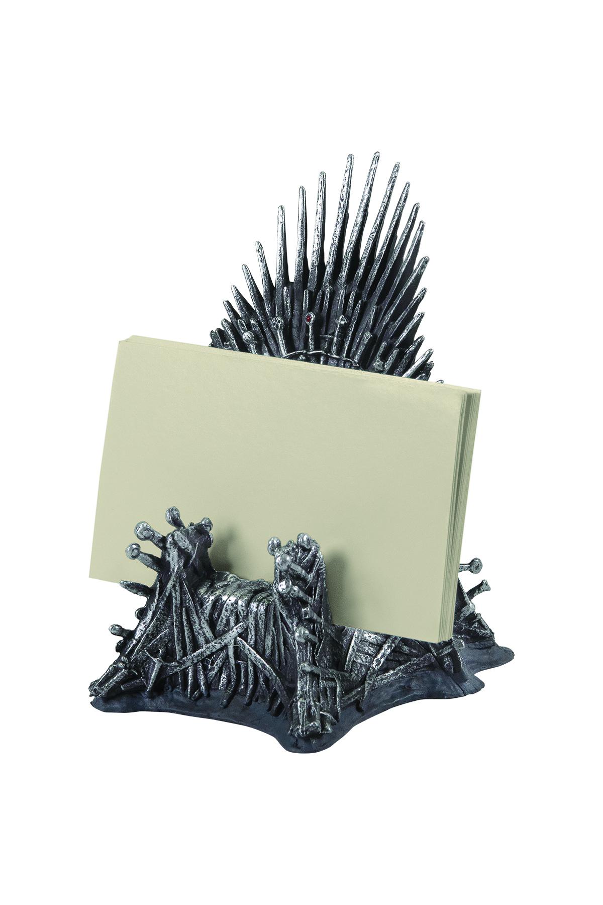 Mar190381 Got Iron Throne Business Card Holder