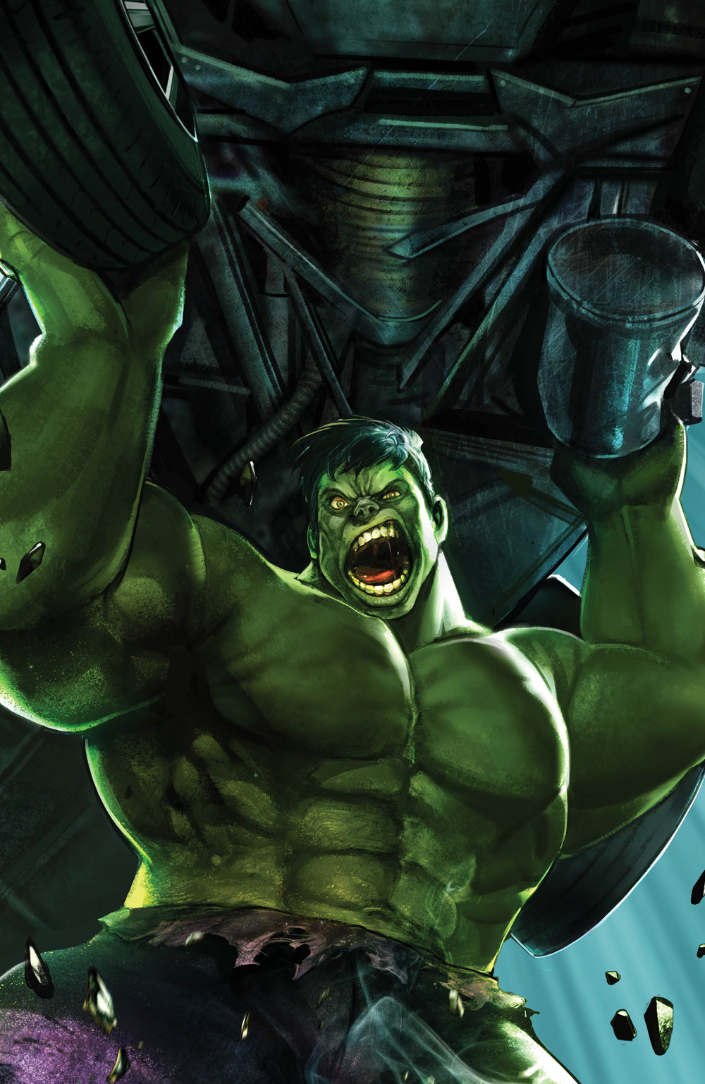 IMMORTAL HULK #17 HEYJIN IM MARVEL BATTLE LINES VAR