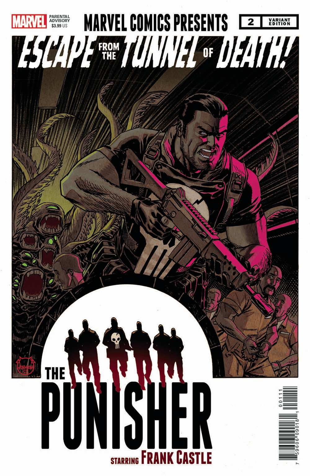 WAR OF REALMS PUNISHER #2 (OF 3) JOHNSON VAR