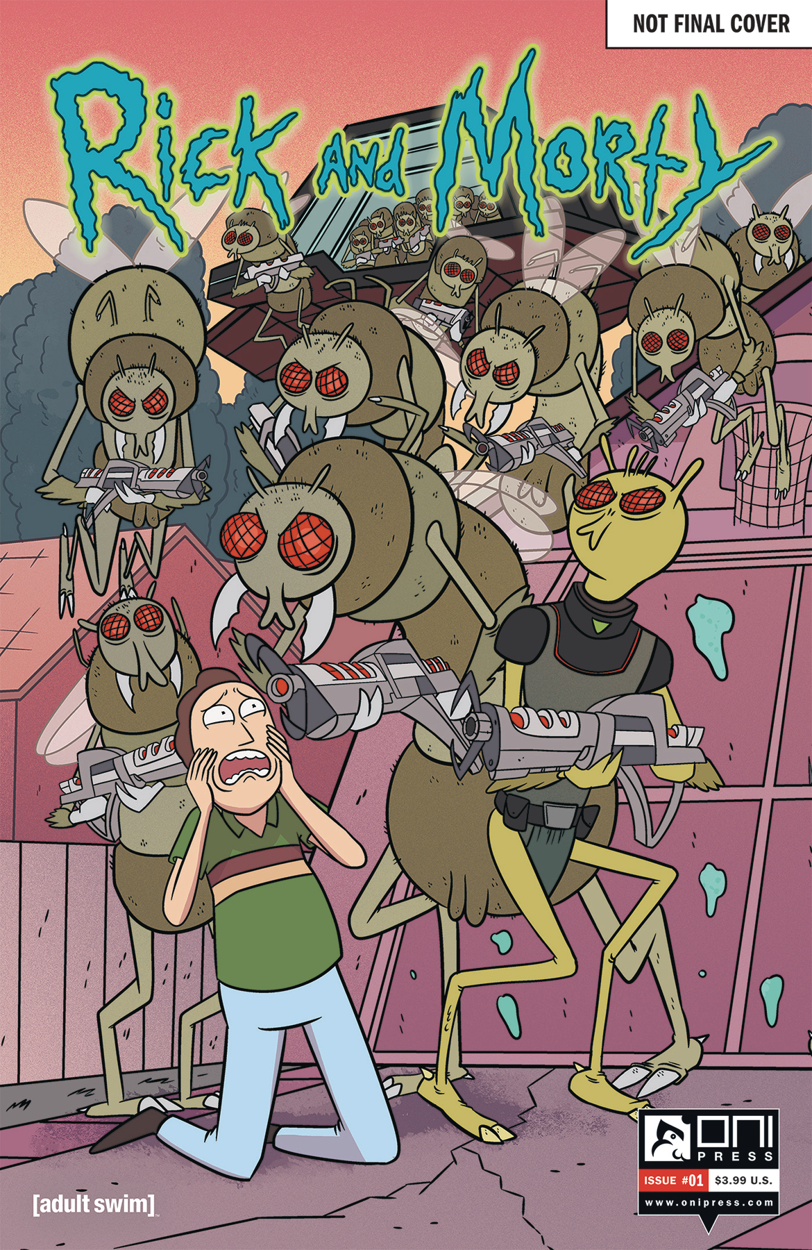 RICK & MORTY #1 50 ISSUES SPECIAL VAR