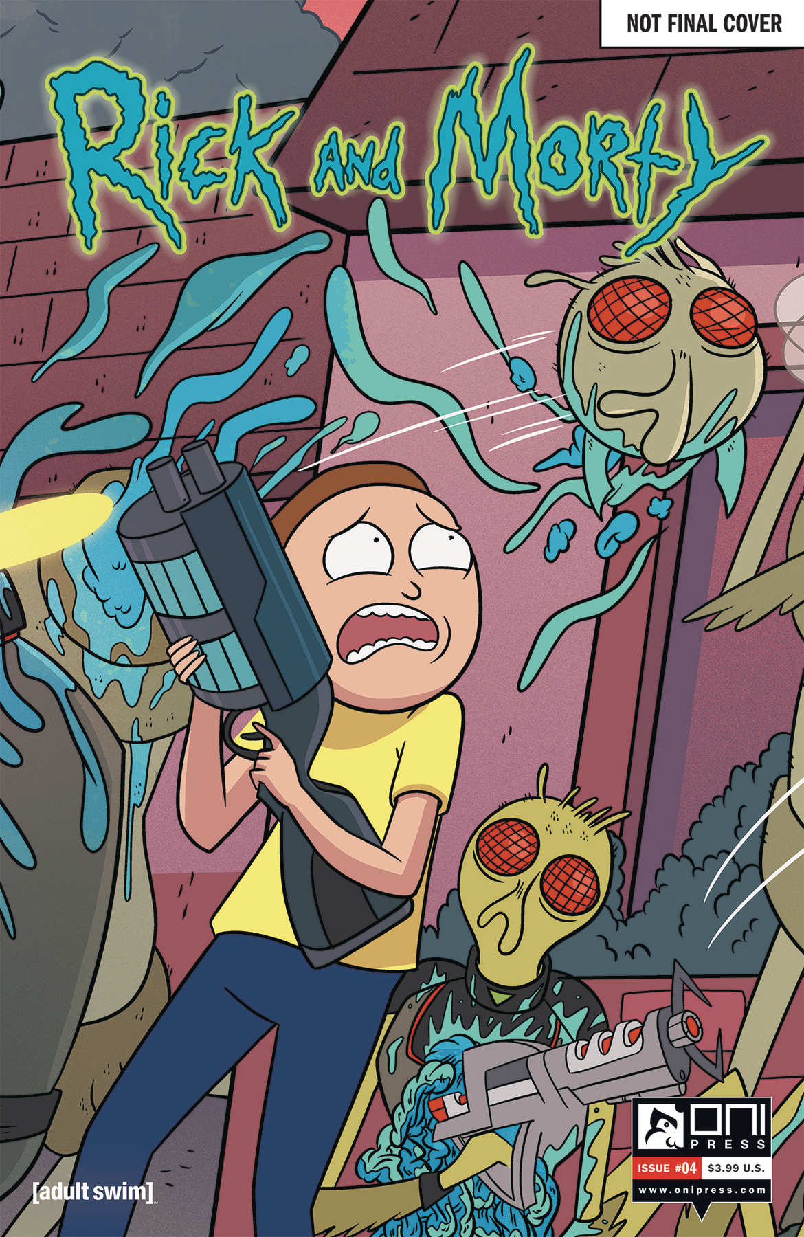 RICK & MORTY #4 50 ISSUES SPECIAL VAR