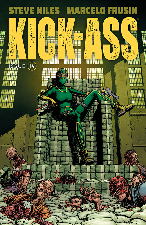 KICK-ASS #14 CVR C BURNHAM (MR)