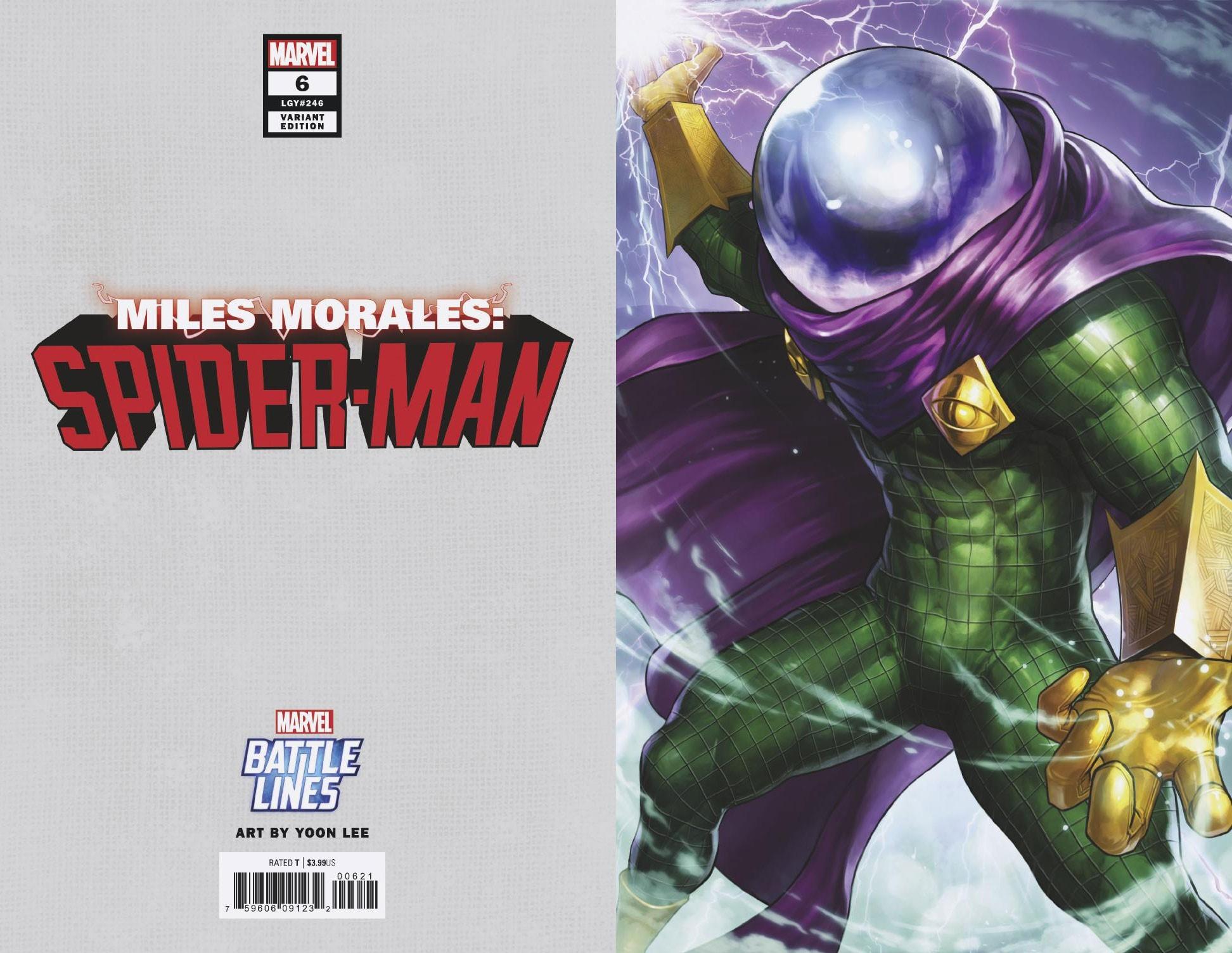 MAR190878 - MILES MORALES SPIDER-MAN #6 YOON LEE MARVEL