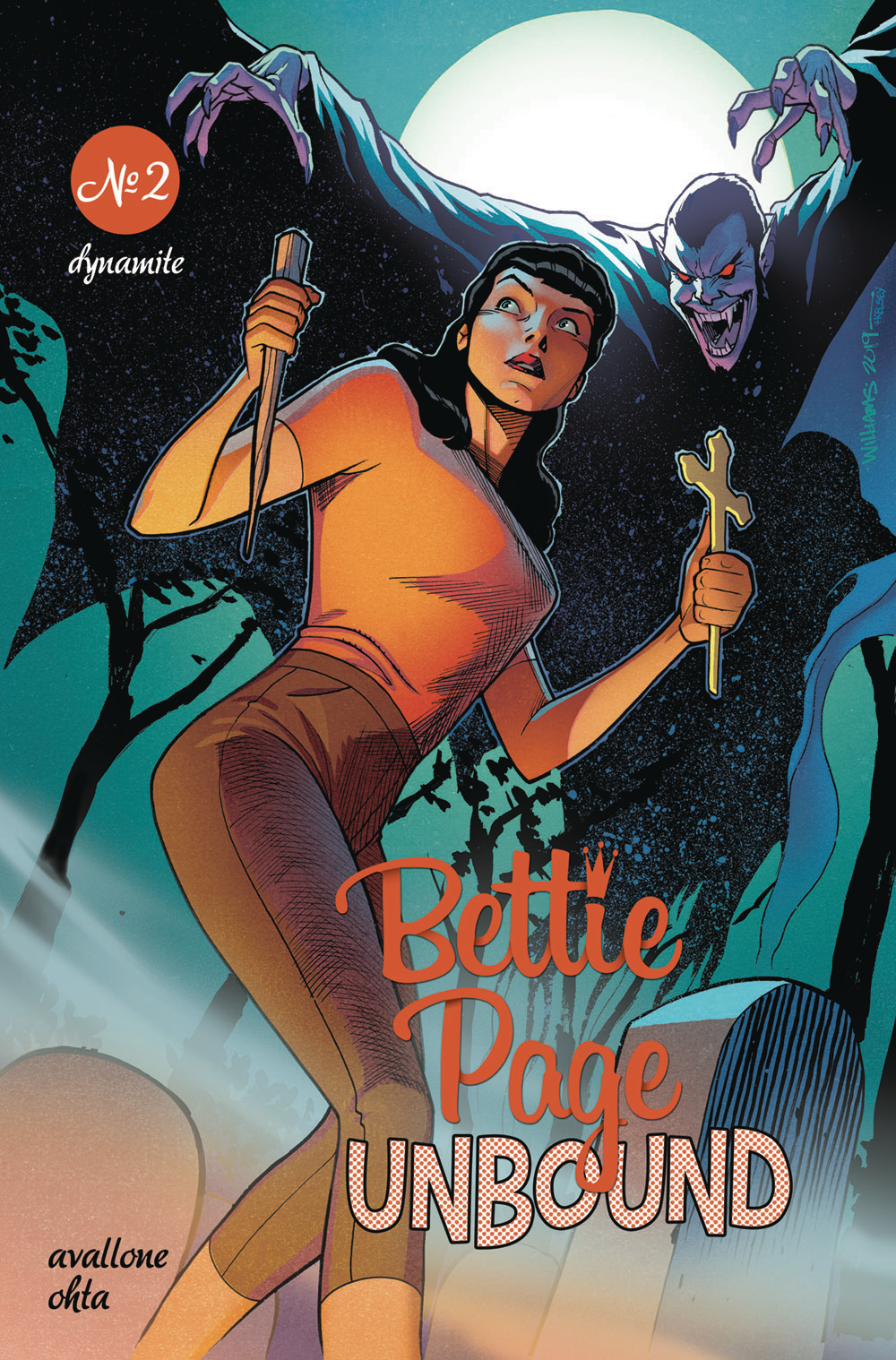 BETTIE PAGE UNBOUND #2 CVR C WILLIAMS