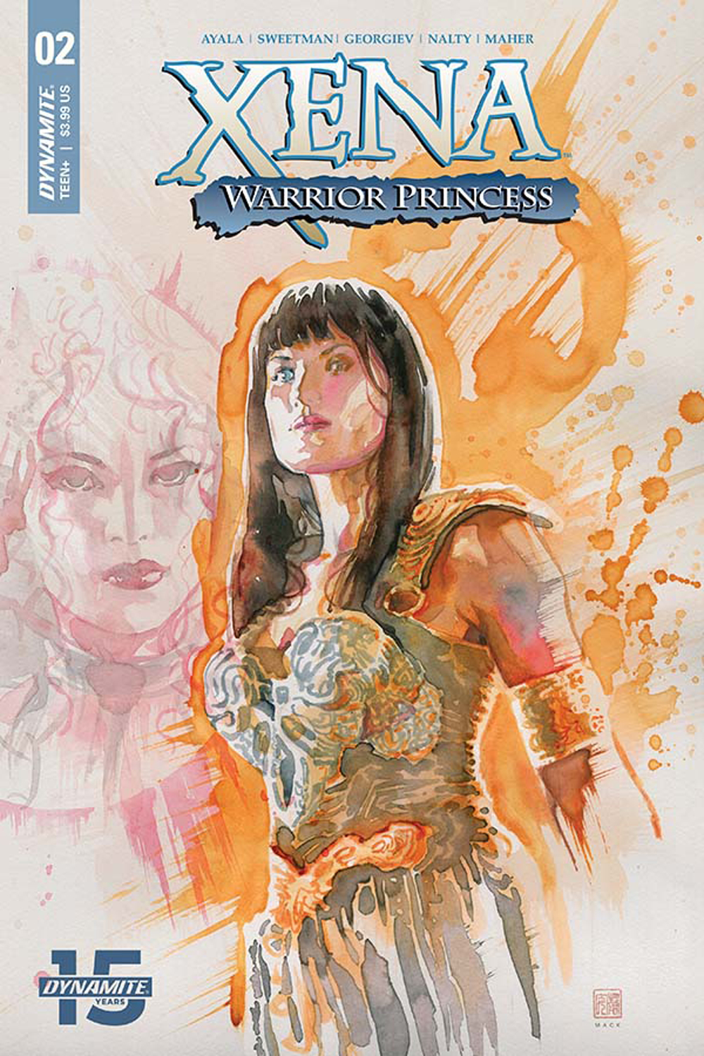 XENA WARRIOR PRINCESS #2 CVR A MACK