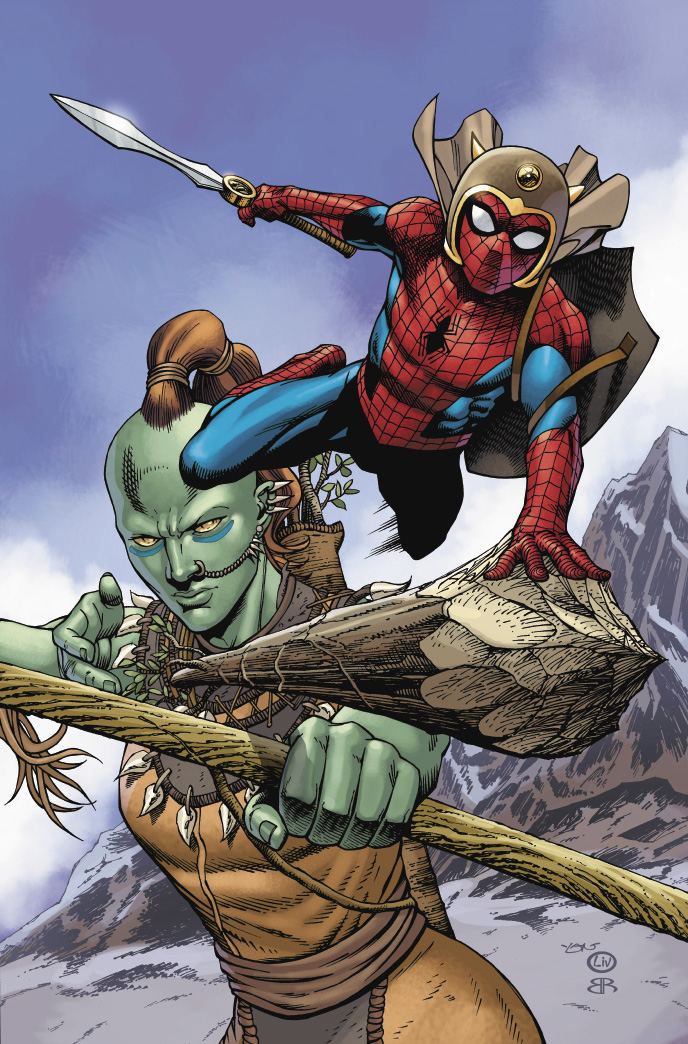 WAR OF REALMS SPIDER-MAN & LEAGUE OF REALMS #2 (OF 3) ARTIST