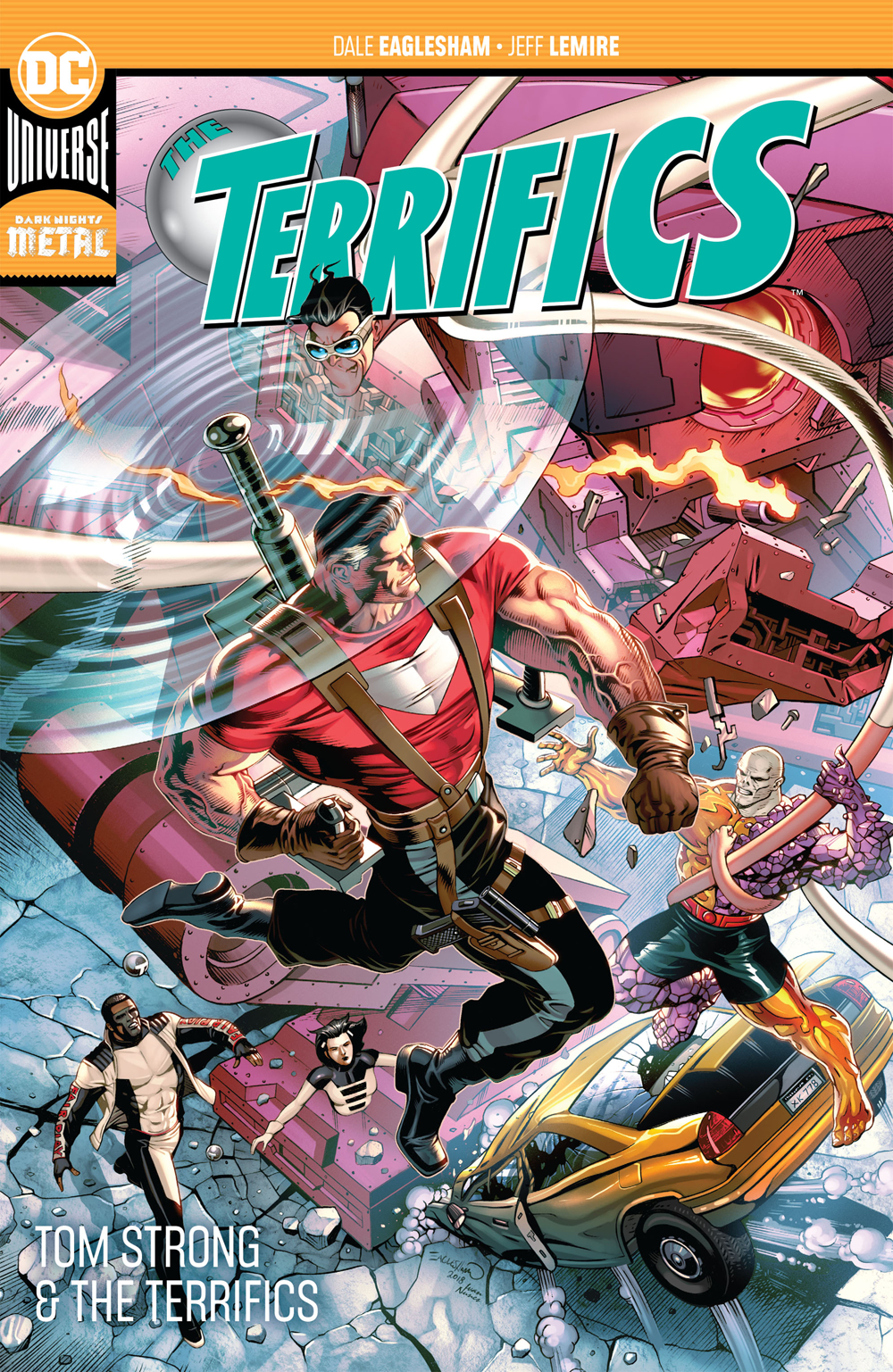 TERRIFICS TP VOL 02 TOM STRONG AND THE TERRIFICS TP