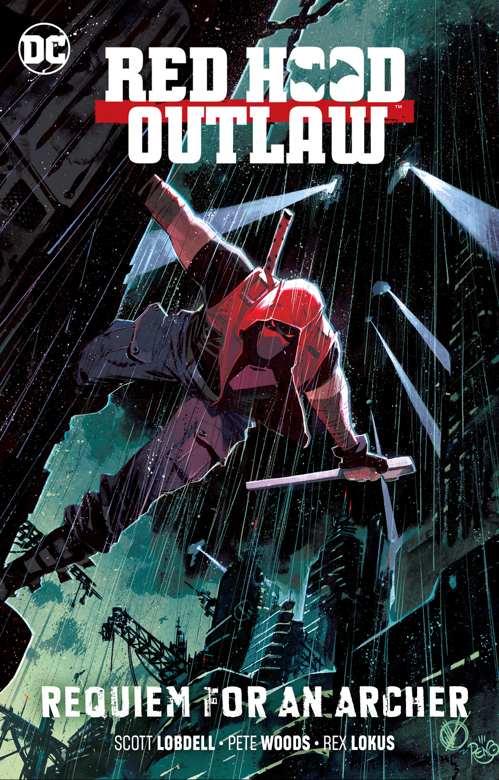 RED HOOD OUTLAW TP VOL 01 REQUIEM FOR AN ARCHER