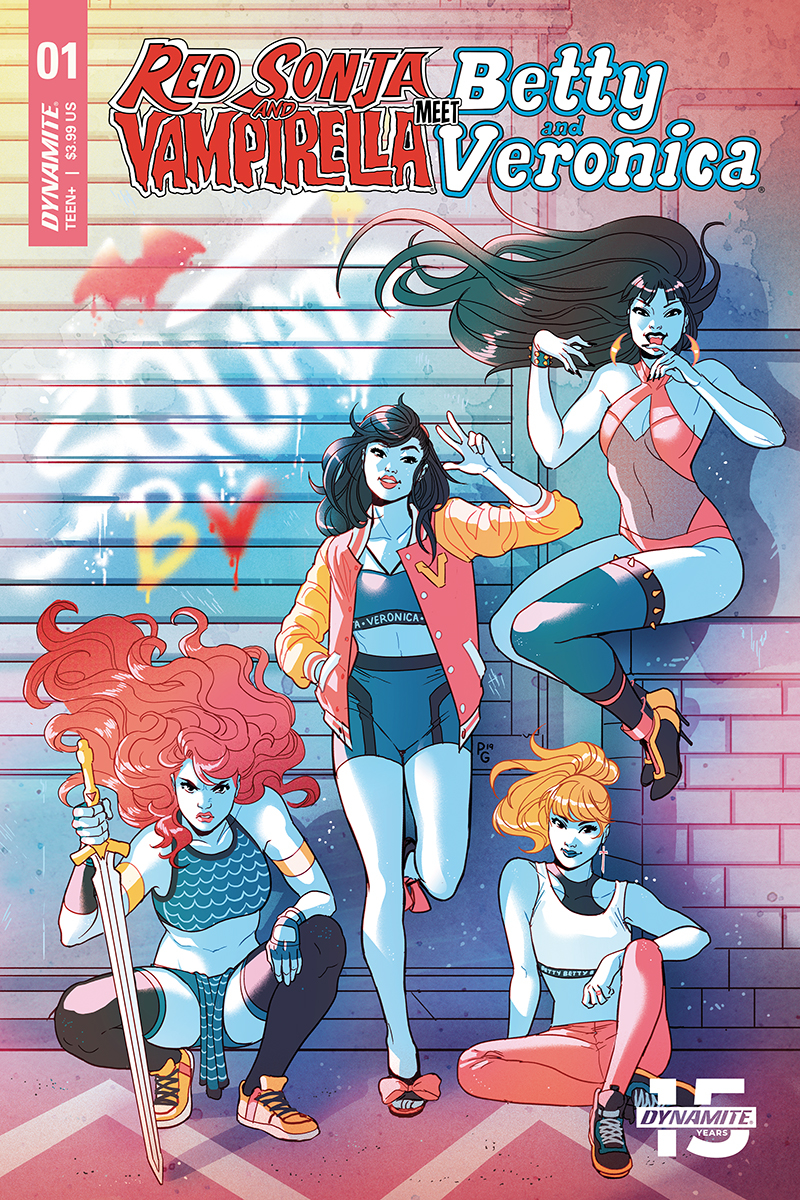RED SONJA VAMPIRELLA BETTY VERONICA #1 CVR D GANUCHEAU