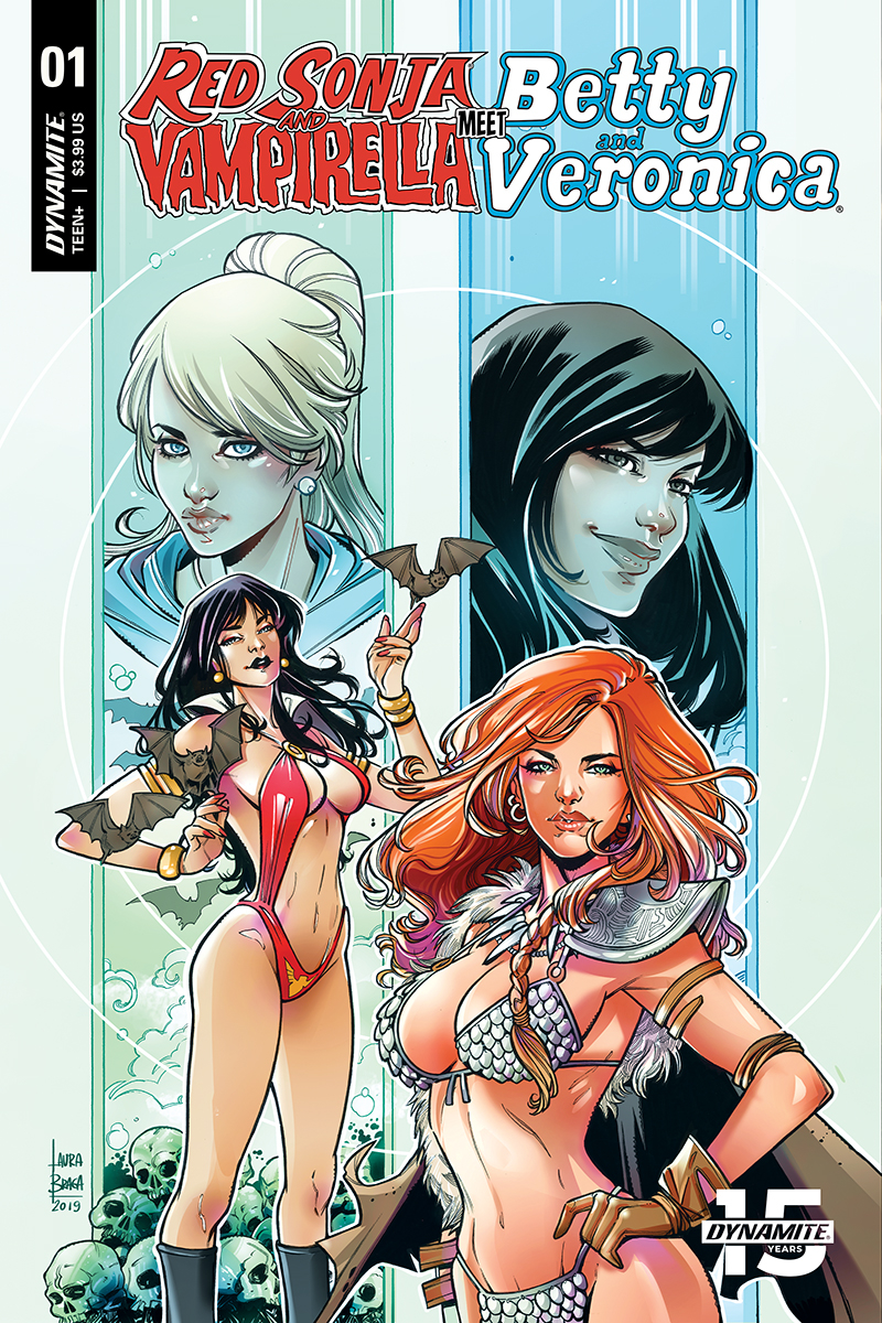 RED SONJA VAMPIRELLA BETTY VERONICA #1 CVR E BRAGA