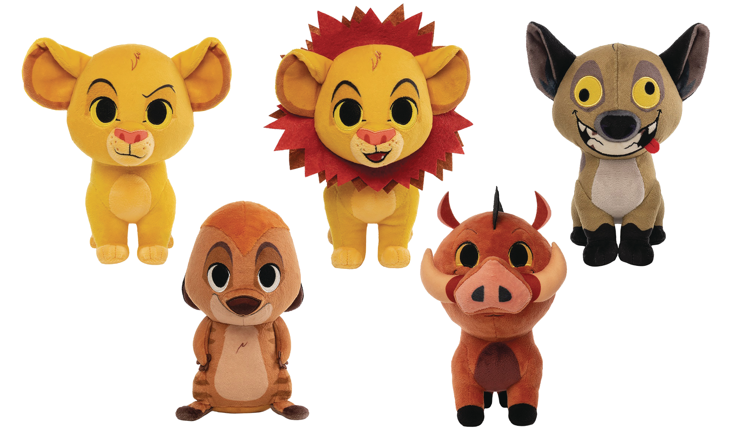 FUNKO PLUSH LION KING 6PC PLUSH DISP (Net)