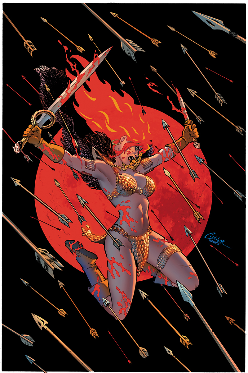 RED SONJA #2 CONNER VIRGIN CVR