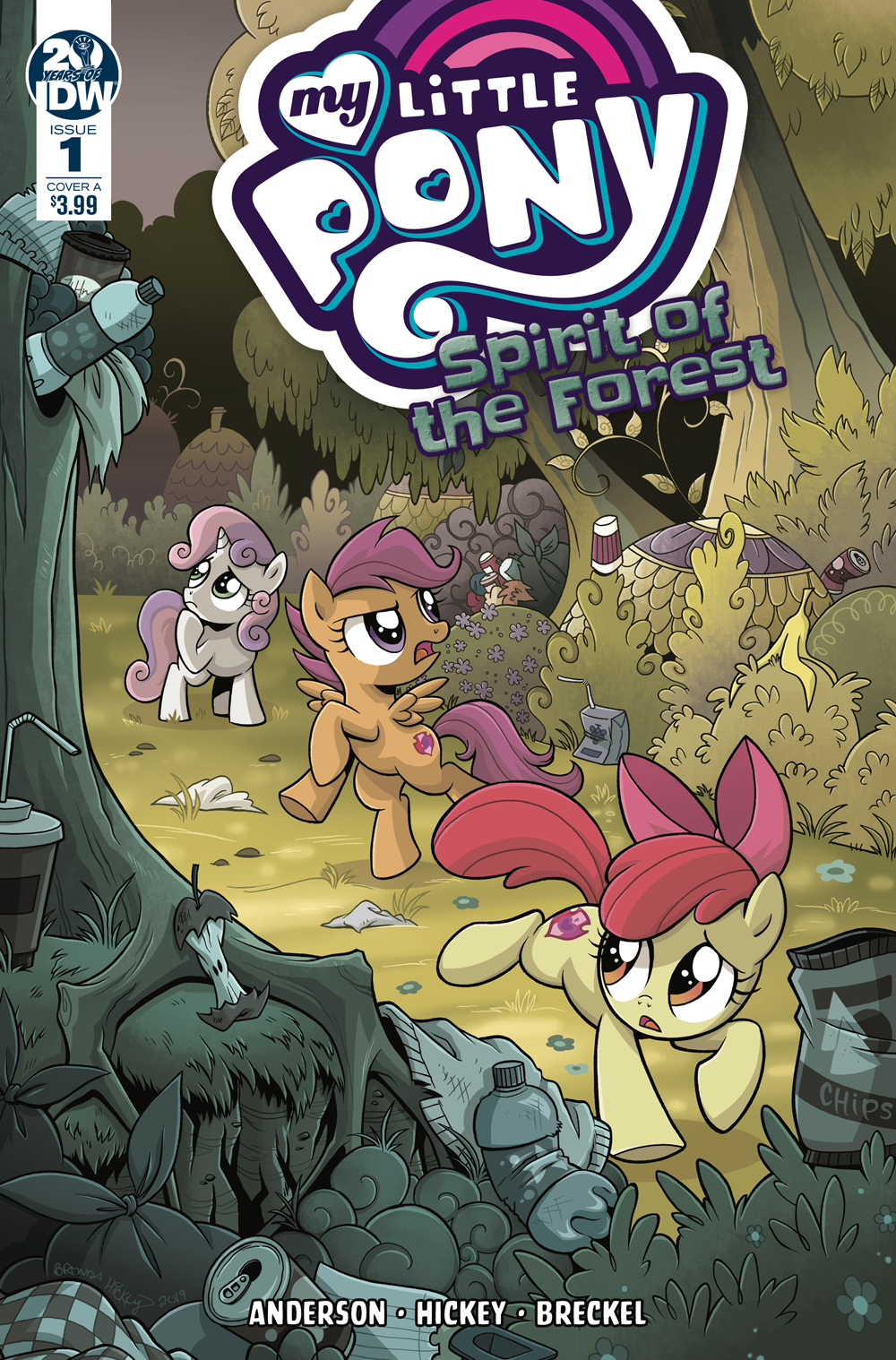 MY LITTLE PONY SPIRIT OF THE FOREST #1 (OF 3) CVR A HICKEY (