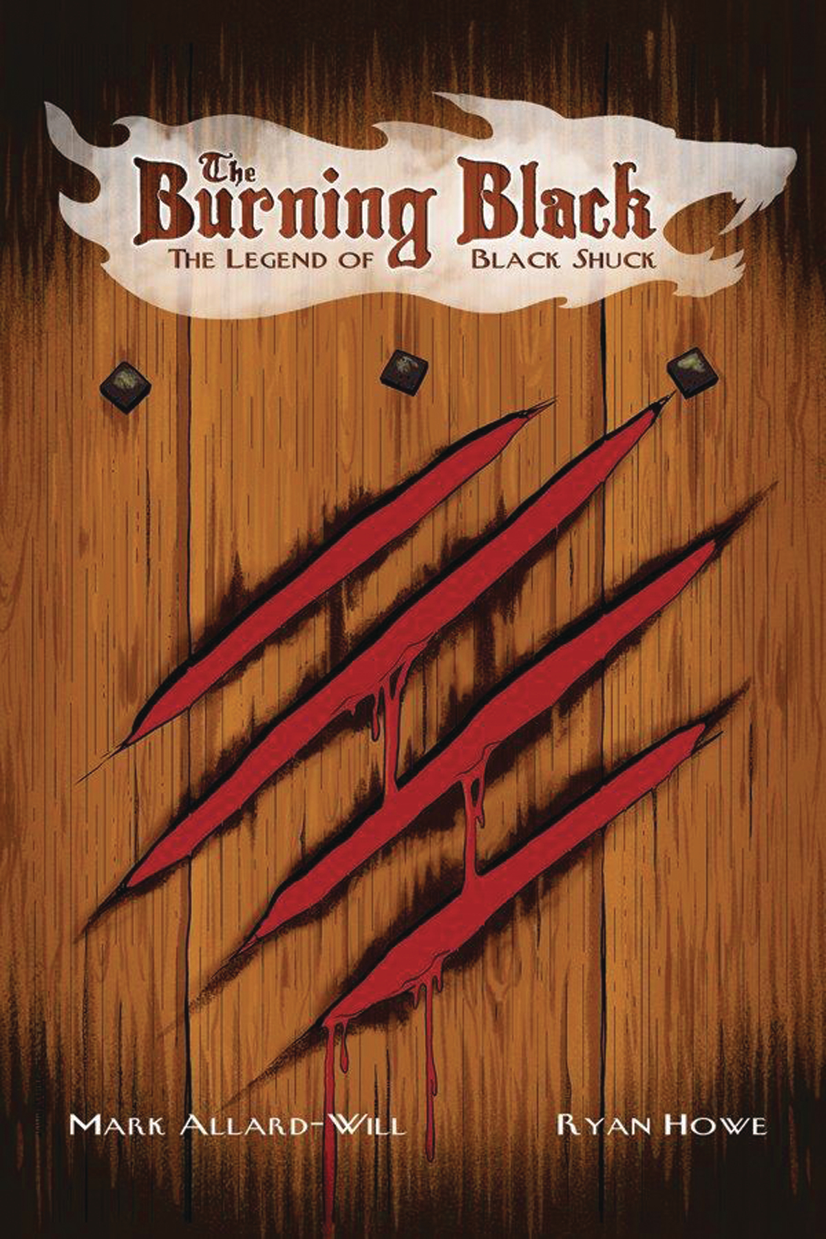 BURNING BLACK LEGEND OF BLACK SHUCK OGN