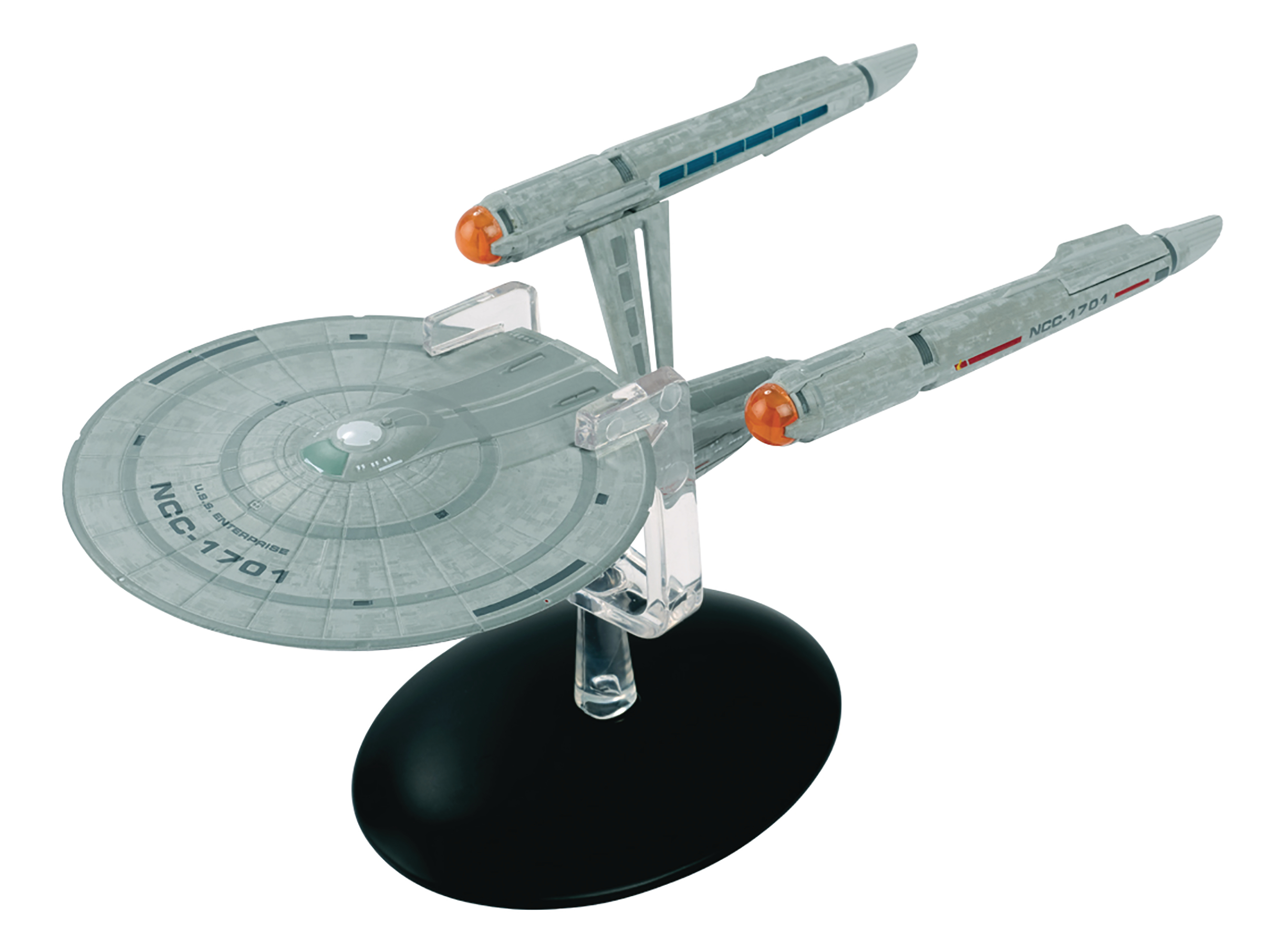 STAR TREK DISCOVERY FIG MAG #12 USS ENTERPRISE NCC-1701