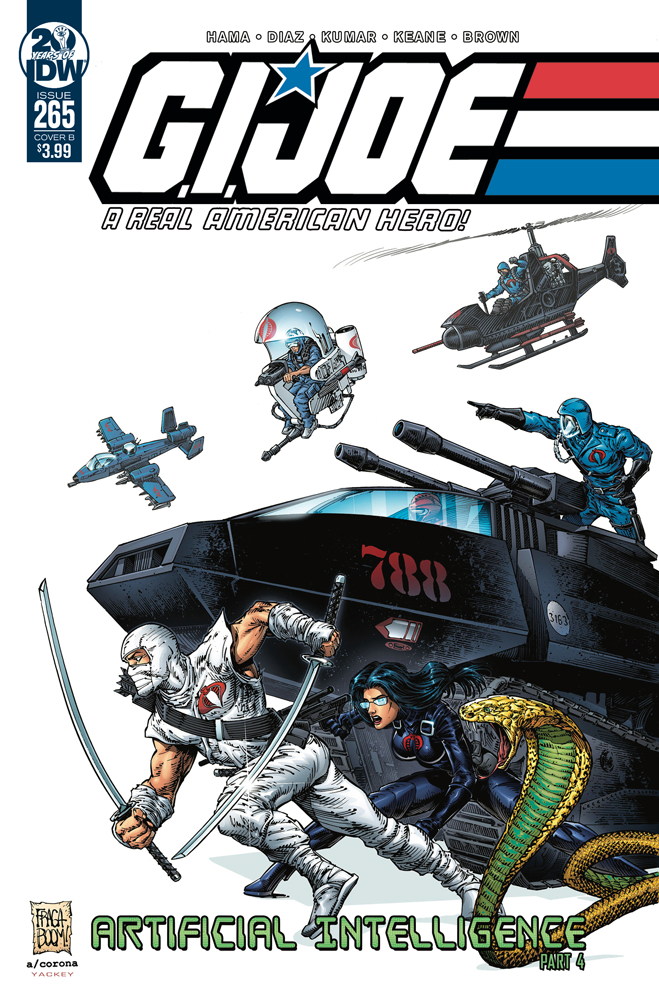 GI JOE A REAL AMERICAN HERO #265 CVR B FRAGA