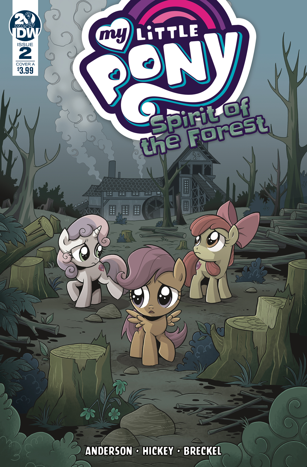 MY LITTLE PONY SPIRIT OF THE FOREST #2 (OF 3) CVR A HICKEY (