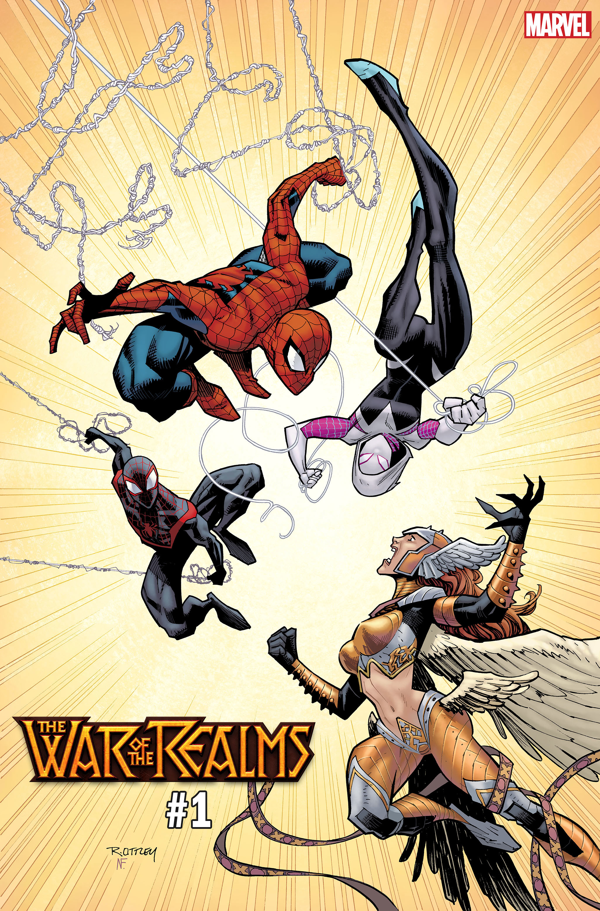WAR OF REALMS #1 (OF 6) OTTLEY VAR