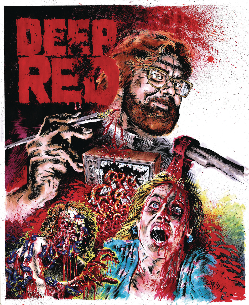 DEEP RED VOL 4 #1