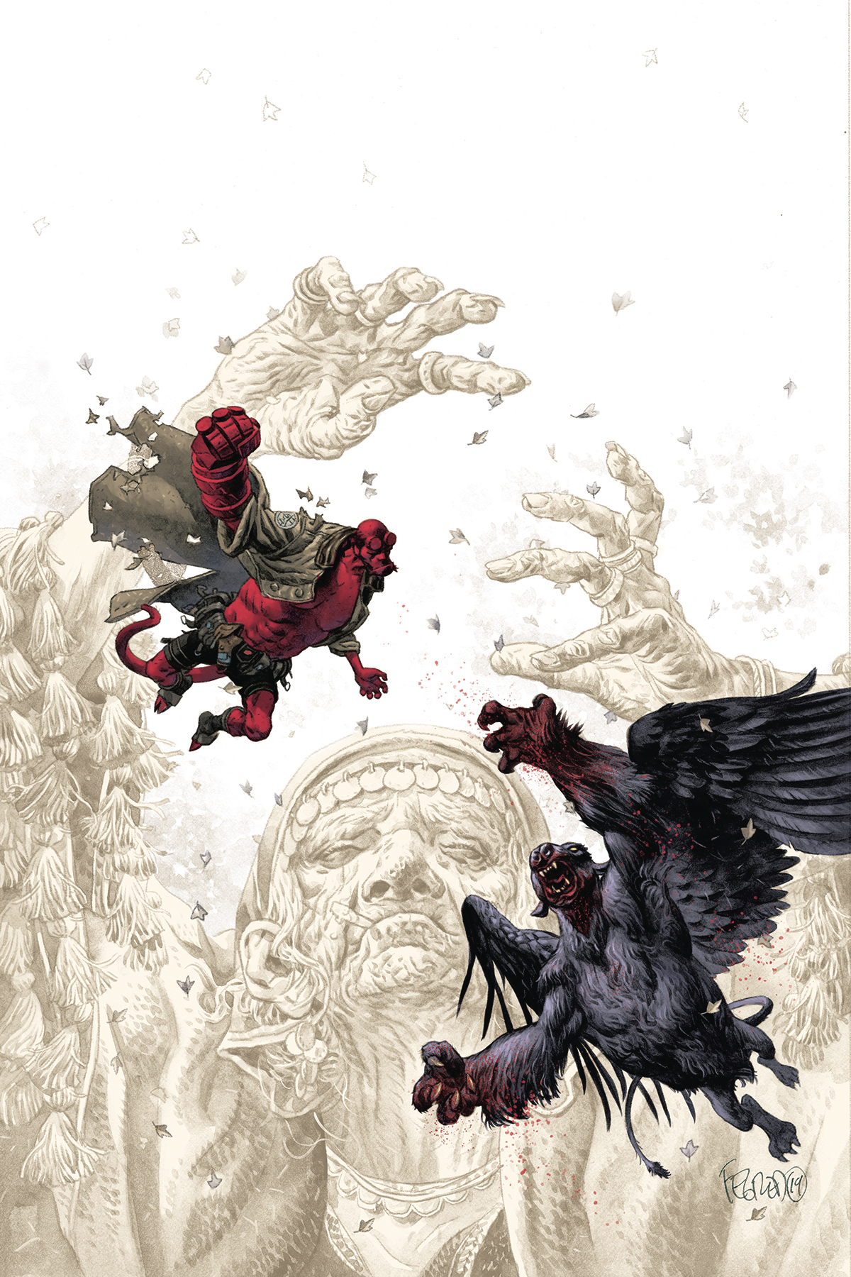 HELLBOY AND BPRD BEAST OF VARGU CVR A FEGREDO