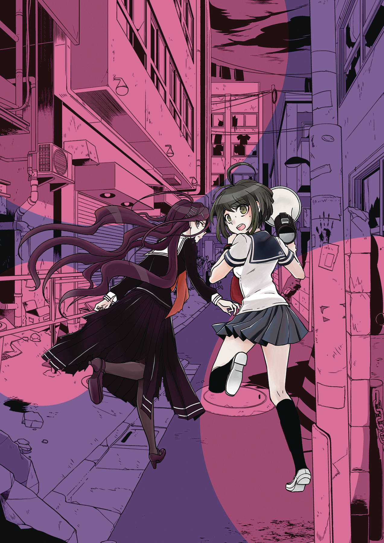 Danganronpa another episode tp vol 01 ultra despair girls c