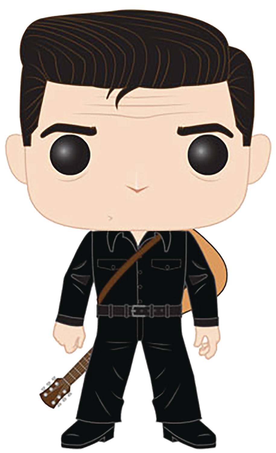 POP ROCKS JOHNNY CASH IN BLACK VINYL FIGURE
