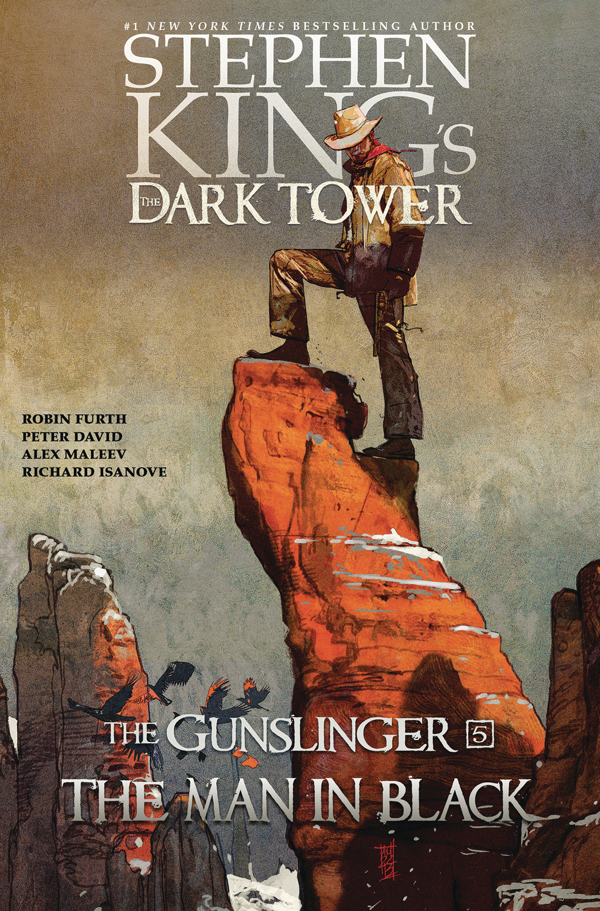 DARK TOWER GUNSLINGER HC VOL 05 MAN IN BLACK