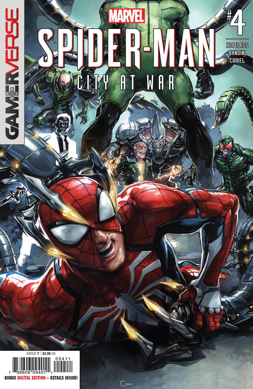 APR190834 - SPIDER-MAN CITY AT WAR #4 (OF 6) - Previews World