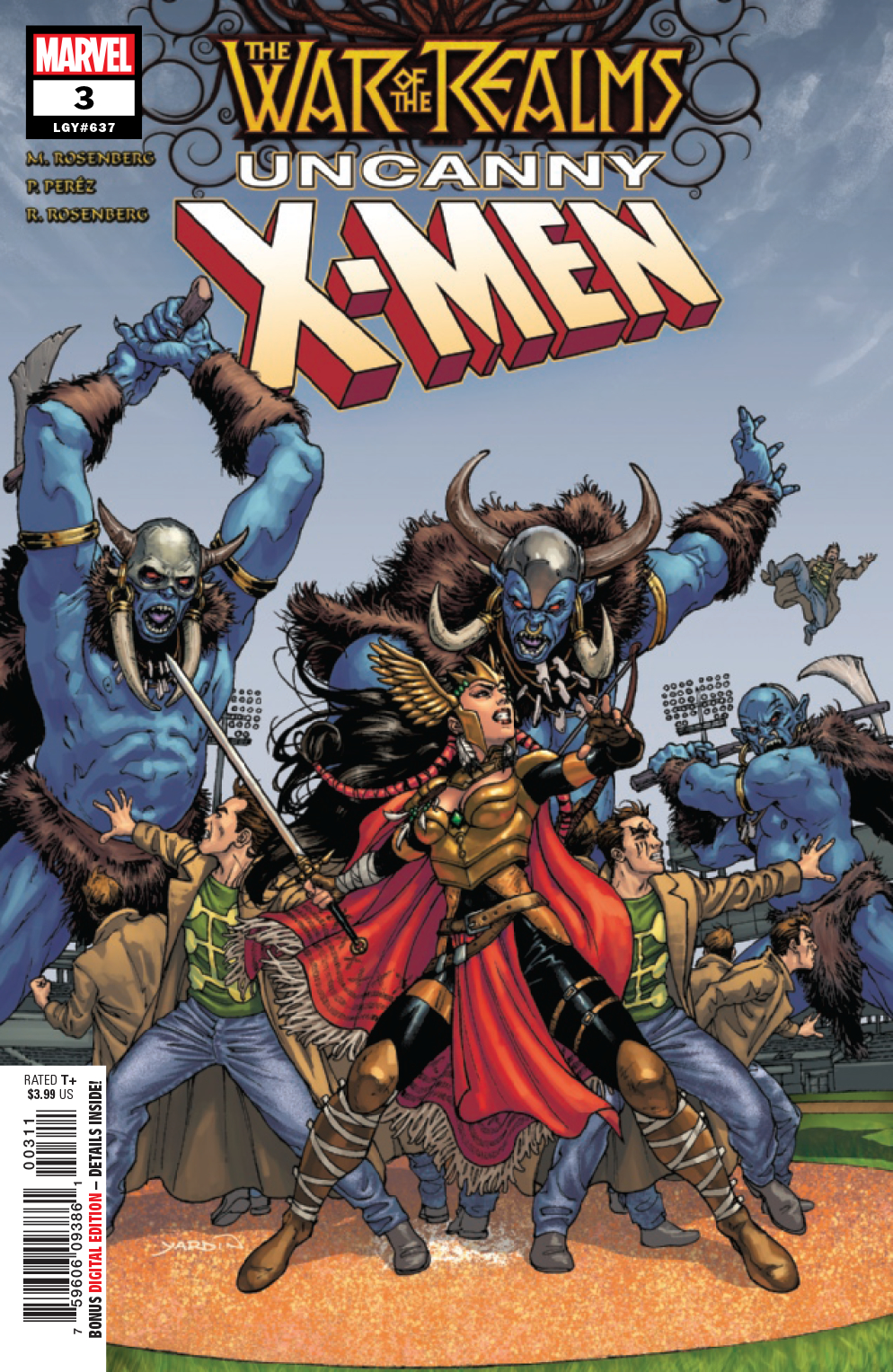 WAR OF REALMS UNCANNY X-MEN #3 (OF 3) WR