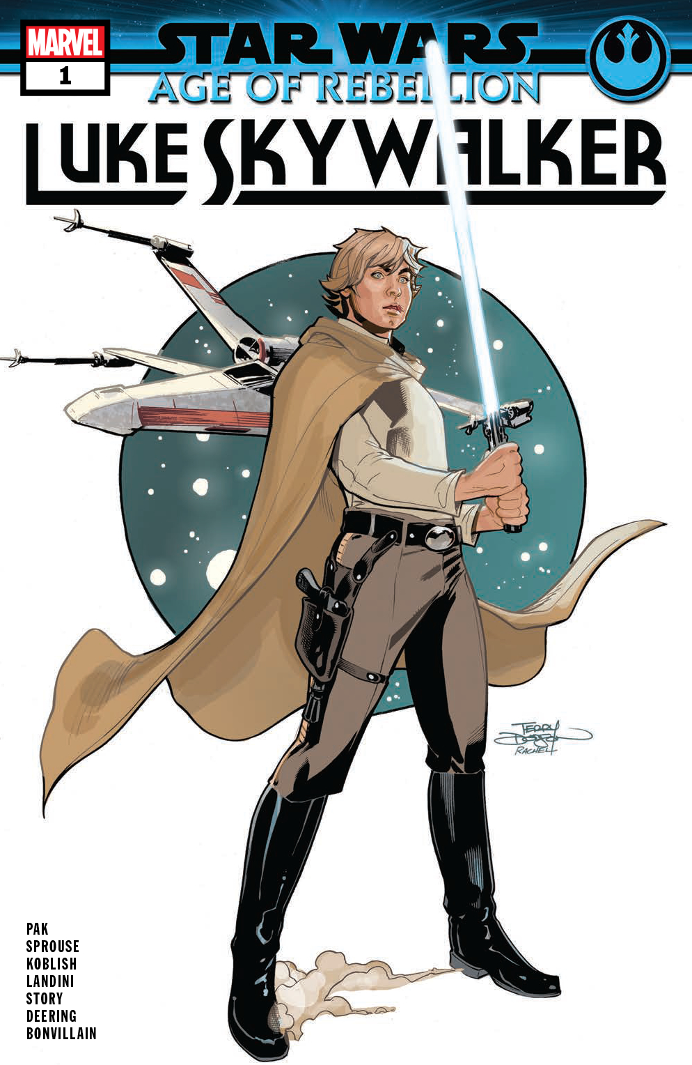 STAR WARS AOR LUKE SKYWALKER #1