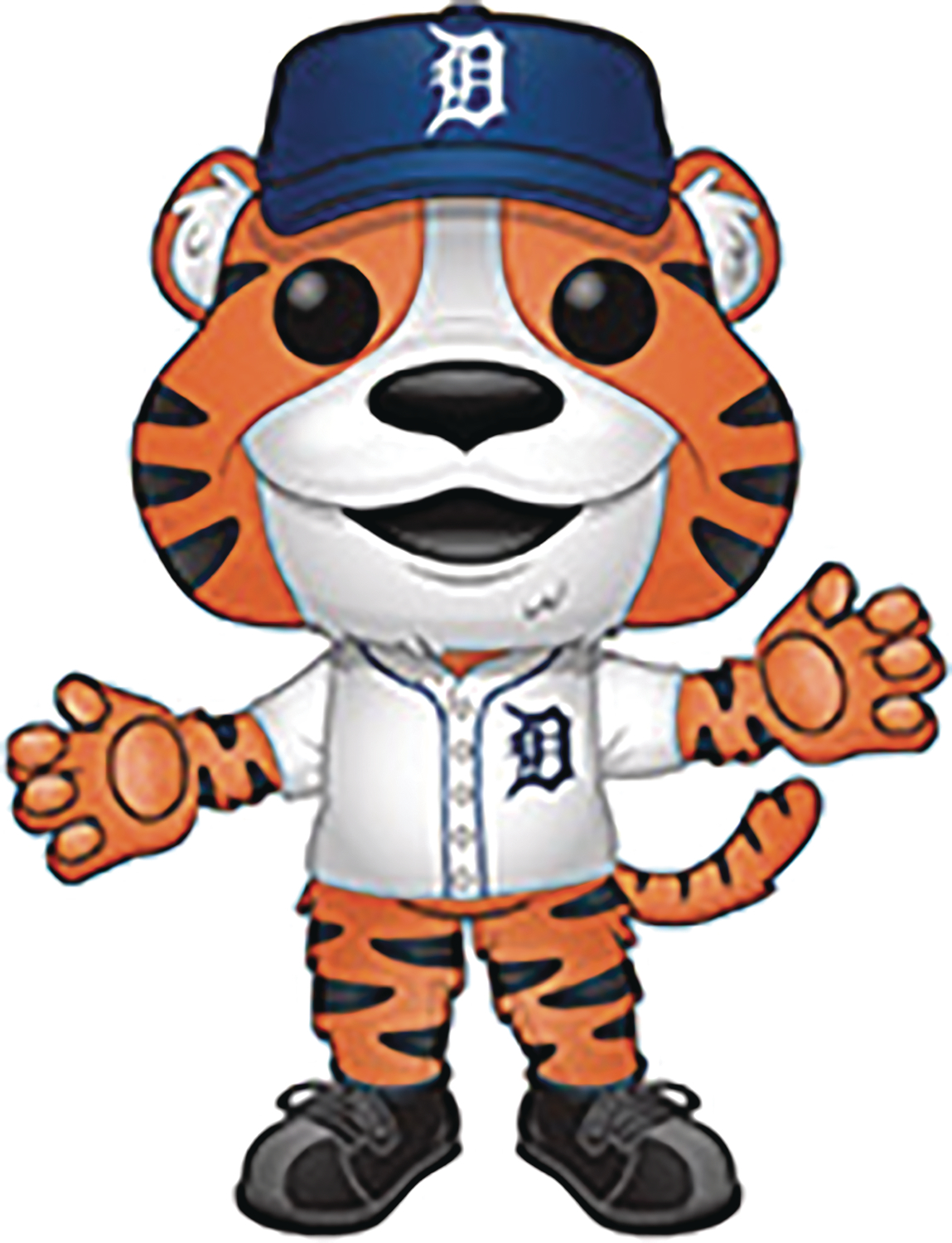 POP MLB MASCOTS PAWS DETROIT VINYL FIG