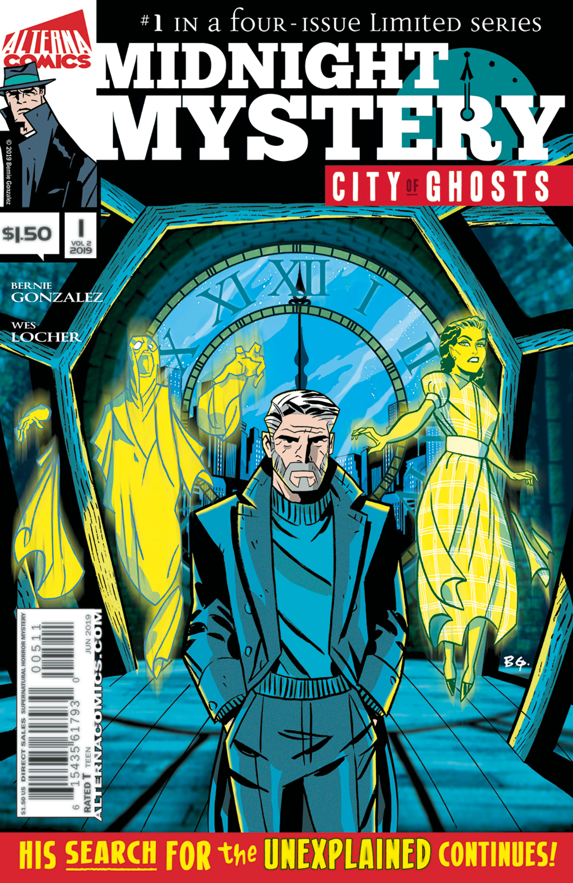 MIDNIGHT MYSTERY VOL 02 CITY OF GHOSTS #1