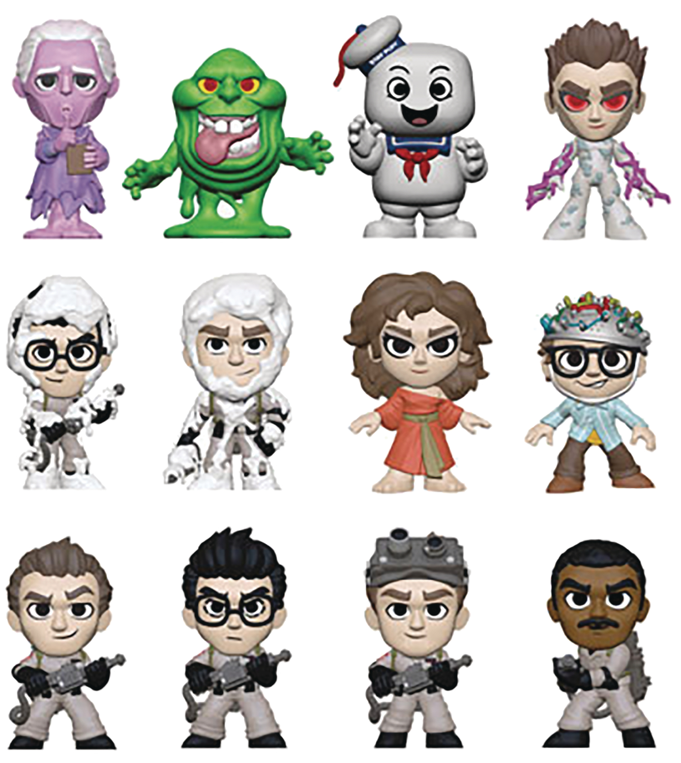 MYSTERY MINIS GHOSTBUSTERS 12PC BMB DISP