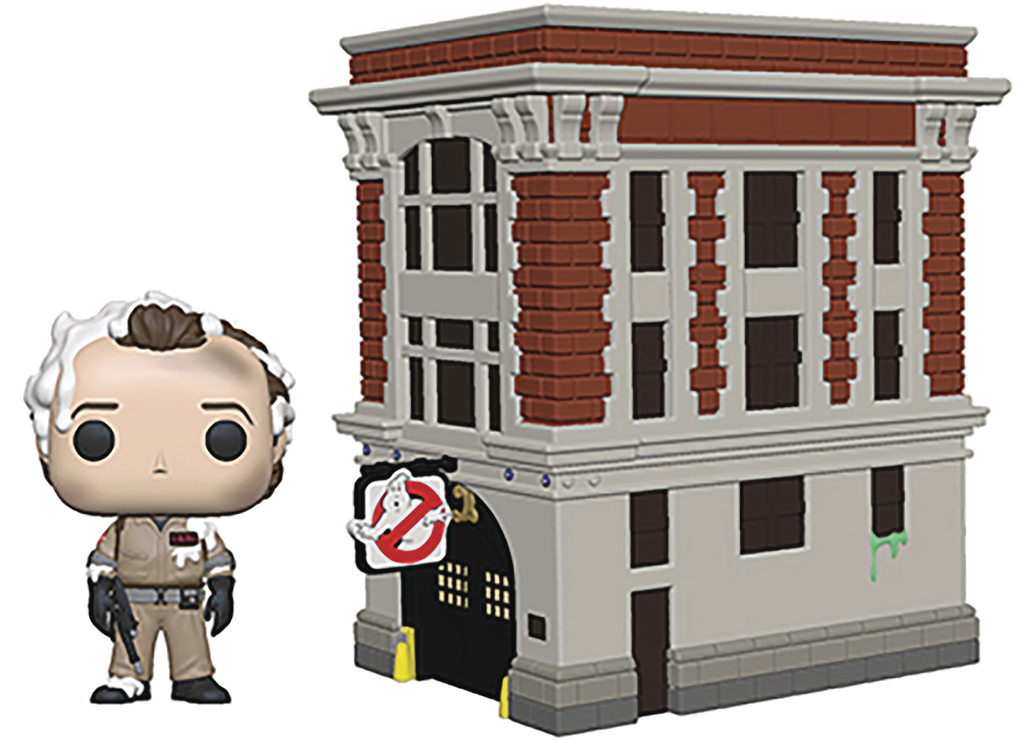 POP TOWN GHOSTBUSTERS PETER W/ HOUSE VIN FIG