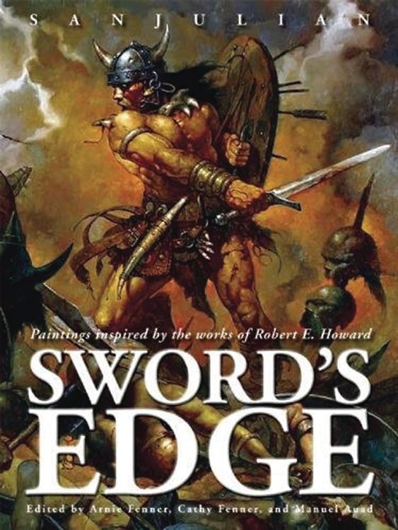 SWORDS EDGE PAINTINGS INSPIRED BY RE HOWARD HC