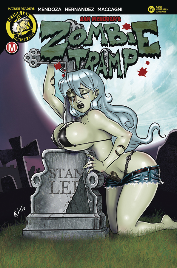 ZOMBIE TRAMP ONGOING #61 CVR E HARRIGAN LTD ED (MR)