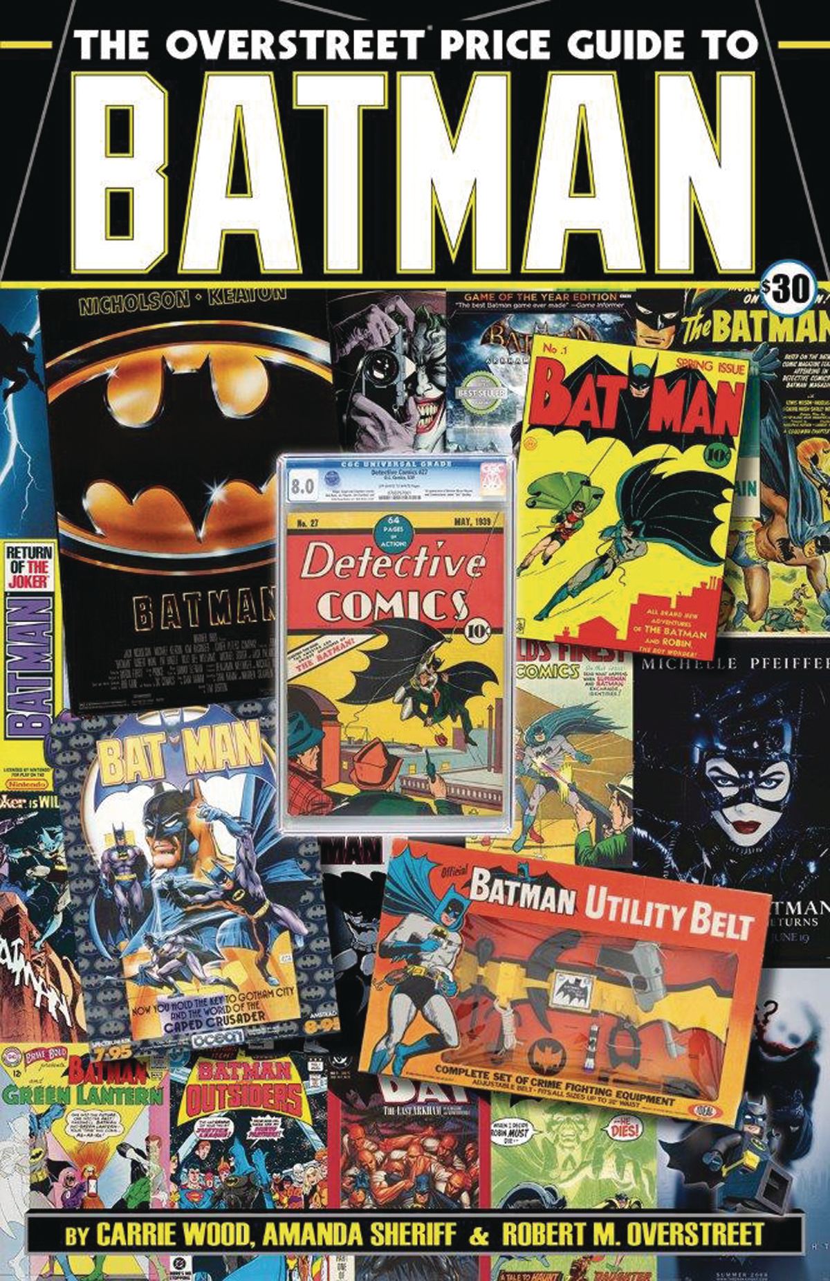 OVERSTREET PRICE GUIDE TO BATMAN SC