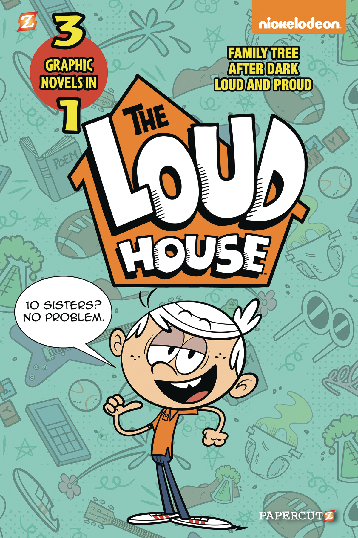 LOUD HOUSE 3IN1 GN VOL 02