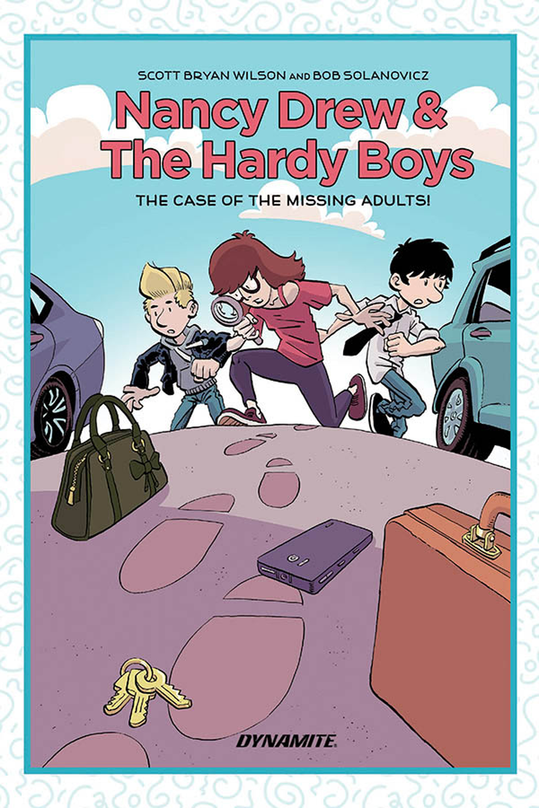 NANCY DREW HARDY BOYS HC MYSTERY MISSING ADULTS