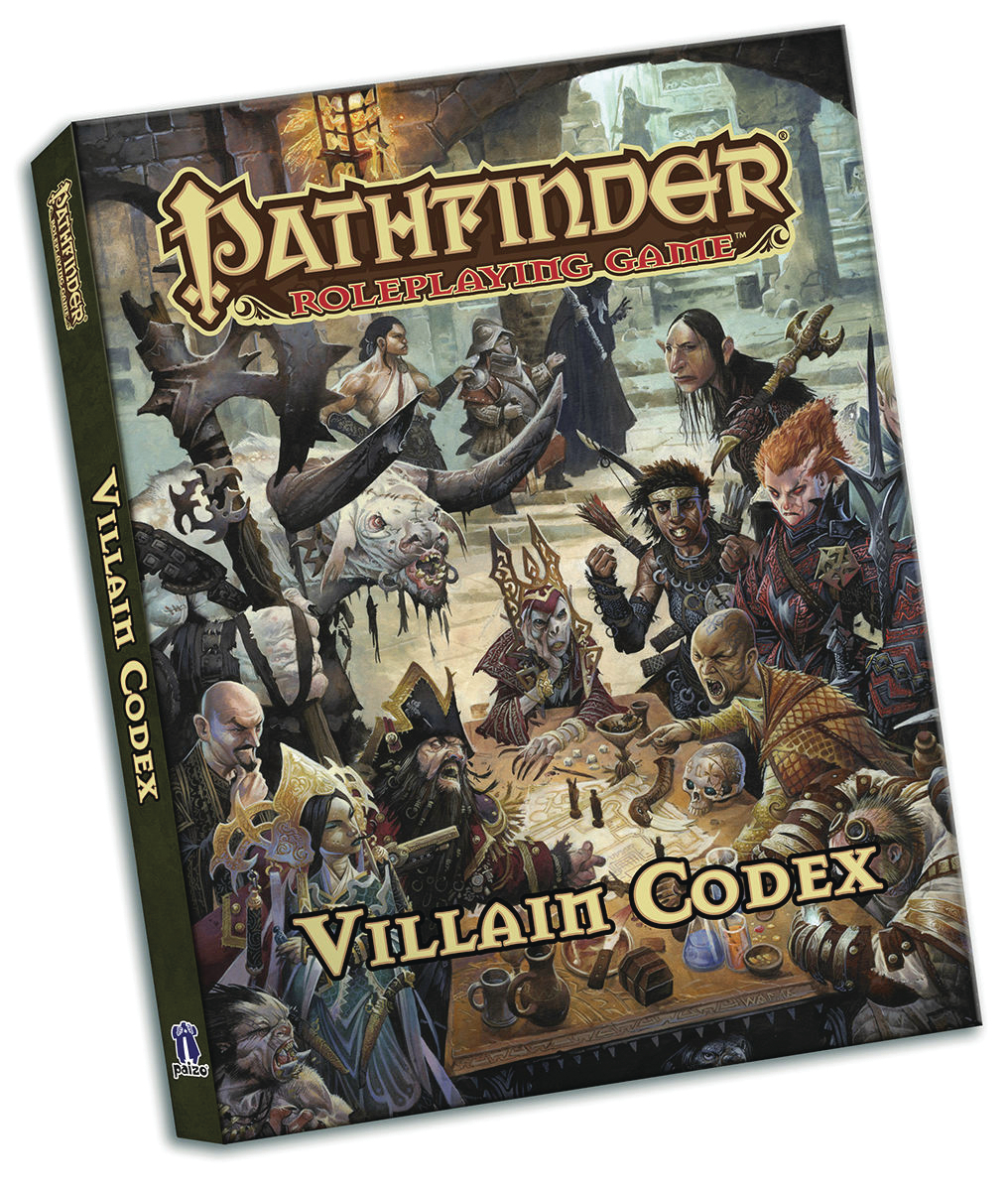 PATHFINDER RPG VILLAIN CODEX POCKET ED
